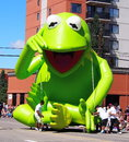 Kermit the Frog Float Royalty Free Stock Photo