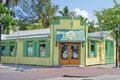 Kermit s key west lime shoppe the legendary considered by many food celebrities as having the best pie Royalty Free Stock Images