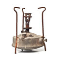 Kerosene burner isolated on white background Royalty Free Stock Photography