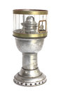 Kerosene lamp antique isolated on white background Royalty Free Stock Image