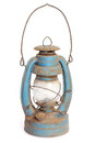 Kerosene lamp antique isolated on white background Stock Photography