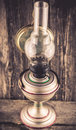 Kerosene lamp Royalty Free Stock Photo