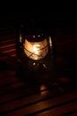 Kerosene lamp Royalty Free Stock Photo