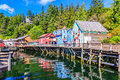 Ketchikan, Alaska. Royalty Free Stock Photo