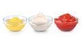 Ketchup, mustard Royalty Free Stock Photo
