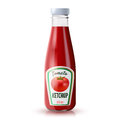 Ketchup Realistic Bottle Royalty Free Stock Photo