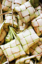 Ketupat Craft Royalty Free Stock Photography