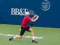 Kevin anderson plays center court at the winston salem open Royalty Free Stock Image