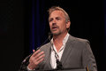 Kevin costner at annette bening honored at santa barbara film festival arlington theatre santa barbara ca Royalty Free Stock Photos
