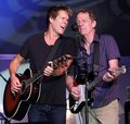 Kevin and Michael Bacon Royalty Free Stock Photos
