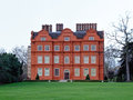 Kew palace british royal in gardens near london Royalty Free Stock Photos