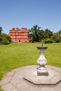Kew Palace and Sundial, Kew Gardens Stock Image