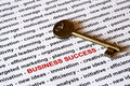 The key of business success Royalty Free Stock Photo