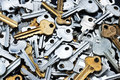 Key Keys Background Royalty Free Stock Photo