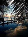 Key Largo Sunset Royalty Free Stock Photography