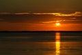 Key Largo Sunset Royalty Free Stock Photo