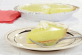 Key lime pie Stock Photography