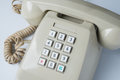 Key pad of old telephone Royalty Free Stock Photo