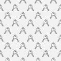 Key seamless pattern Royalty Free Stock Photo