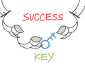 Key success circus Stock Images