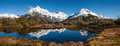 Key summit a beautiful view from in fiordland national park on new zealand's south island Royalty Free Stock Photos