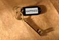 Key to happiness Royalty Free Stock Photo