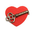 Key to my Heart Royalty Free Stock Photos