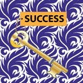 Key to success concept of the Royalty Free Stock Image