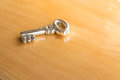 The key to unlock your future and past.  The power of this objec Royalty Free Stock Photo