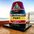 Key west miles point Royalty Free Stock Photo