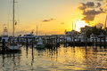 Key West Sunset Celebration Royalty Free Stock Photo
