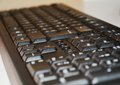 Keyboard, acces gate to virtual world Royalty Free Stock Photo