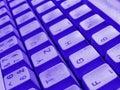 Keyboard detail Royalty Free Stock Photo