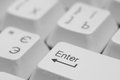 Keyboard enter key Stock Image