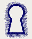 Keyhole Royalty Free Stock Photo