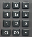 Keypad buttons Royalty Free Stock Image