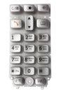 Keypad of mobile phone Royalty Free Stock Photo
