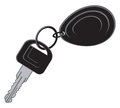Keys car car key Stock Image