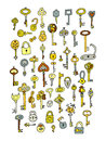 Keys collection, sketch for your design
