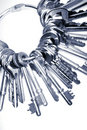 Keys on ring Stock Images