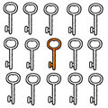 Keys (vector) Stock Photos