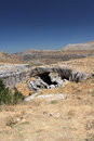 Kfardebian natural bridge lebanon a stone in Stock Photo