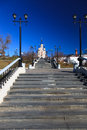 Khabarovsk city a in russia Royalty Free Stock Photography