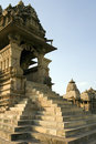 Khajuraho - Kandariya Mahadev Temple - India Royalty Free Stock Photo