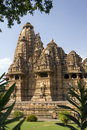 Khajuraho madhya pradesh india kandariya mahadev hindu temple at in the region of the complex of temples at are famous Royalty Free Stock Image