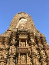 Khajuraho temple Stock Photography