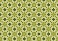 Khaki Green Diamond Pattern Royalty Free Stock Photo