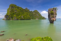 Khao Phing Kan island in Thailand Royalty Free Stock Photos
