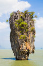 Khao phing kan rock island in thailand Stock Images