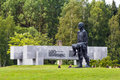 KHATYN, BELARUS Memorial complex Royalty Free Stock Photo